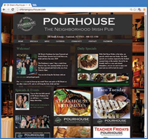 Oh' Brian's Pourhouse Website